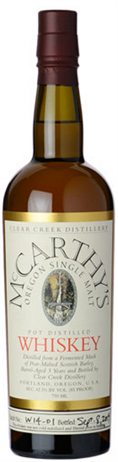 Clear Creek Whiskey Single Malt Mccarthy's